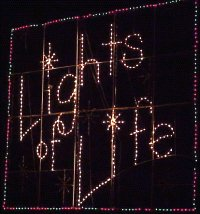 The Lights of Life sign